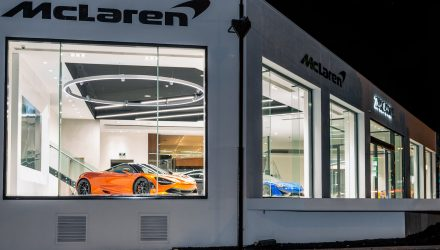 McLaren opens new showroom in Adelaide