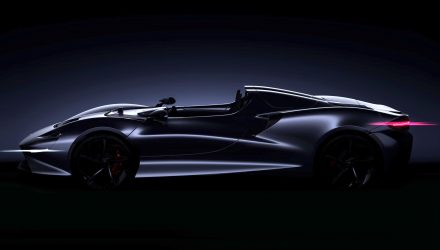 McLaren previews new roadster for Ultimate Series
