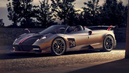 Pagani Huayra Roadster BC revealed, more power