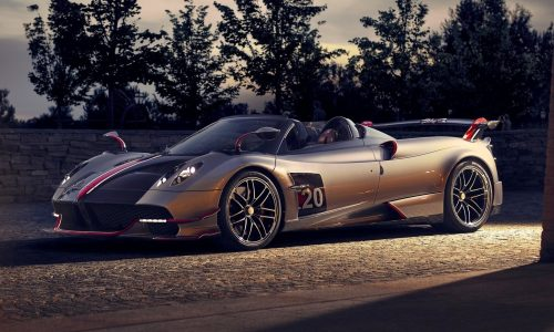 Pagani Huayra Roadster BC revealed, more power