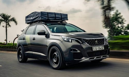 Peugeot 3008 adventure concept made for Ho Chi Minh trail
