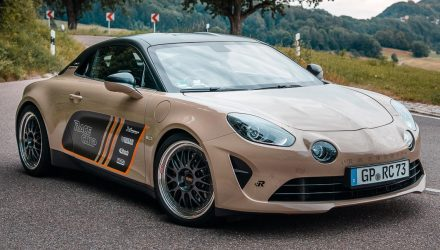 RaceChip develops tuning options for Alpine A110