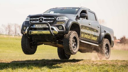 delta4x4 gives Mercedes-Benz X-Class added toughness