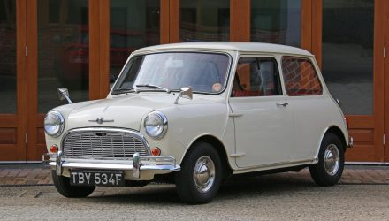 "For Sale: 1968 Mini Minor – ""world's most original"" example"
