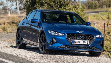 2019 Genesis G70 2.0T Sport review (video)