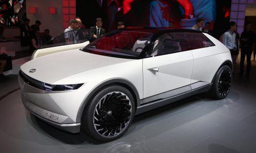 Hyundai 45 EV Concept revealed at Frankfurt show