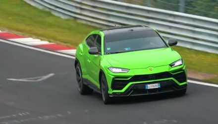 Lamborghini Urus spotted testing, 'Performante' variant? (video)