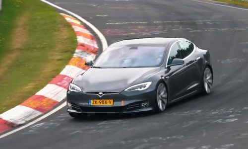 Tesla Model S looking for Nurburgring record? P100D+ with 'Plaid' powertrain coming (video)