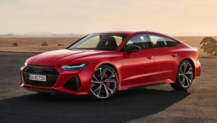2020 Audi RS 7 Sportback revealed, gets RS 6 V8 power