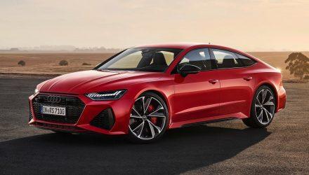 2020 Audi RS 7 Sportback revealed, gets RS 6 V8 power
