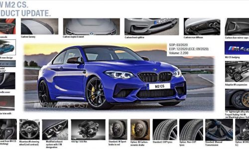 BMW M2 CS details leaked, getting 331kW tune (video)