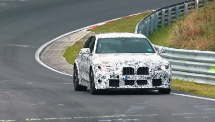 2020 BMW M3 'G80' spotted, is that a huge grille? (video)