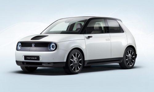 Honda e production version revealed, including specs