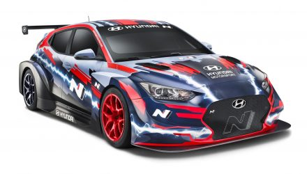 Hyundai Veloster N ETCR revealed, ready for electric racing