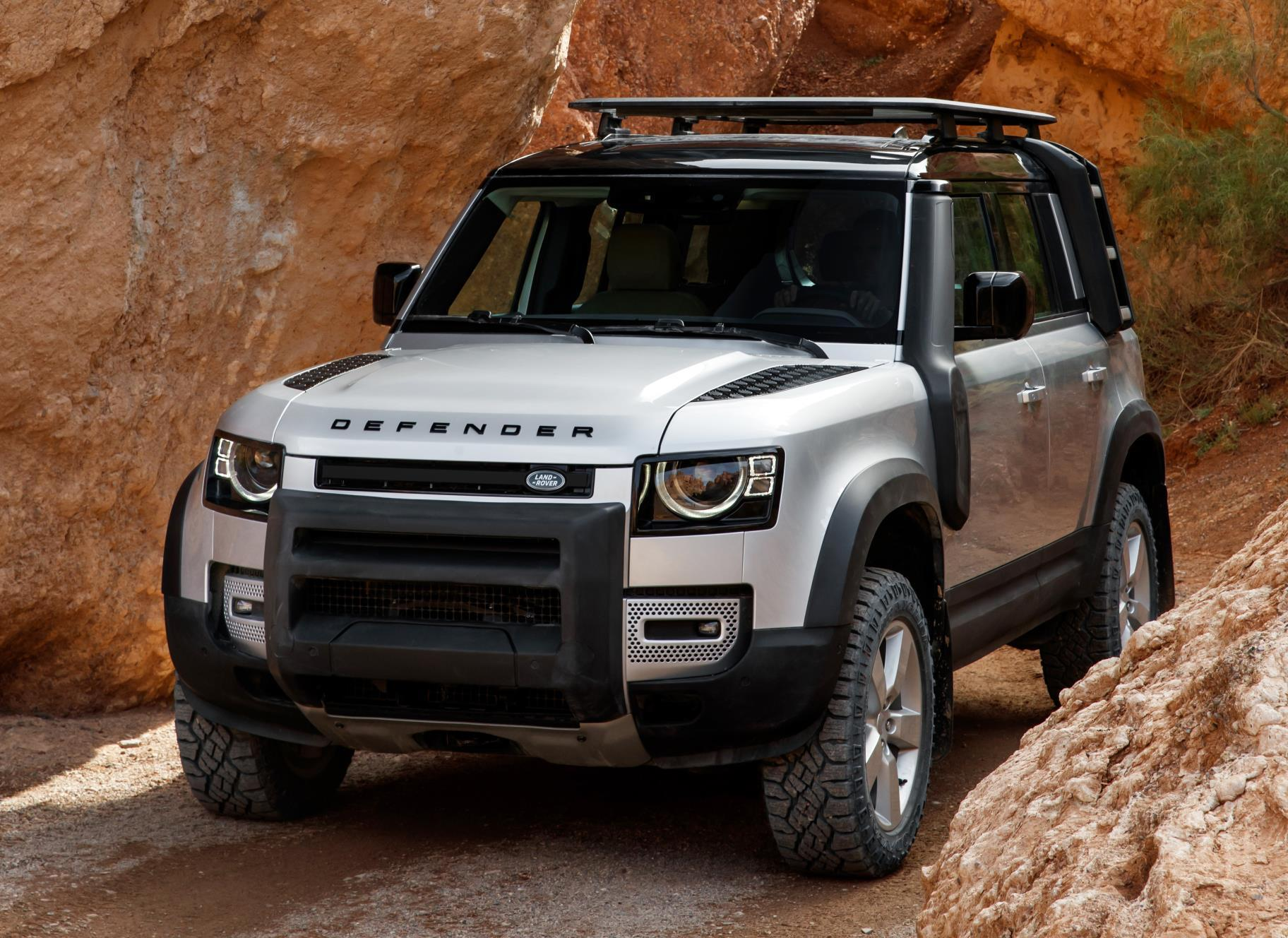 2020 land rover defender officially unveiled performancedrive. Black Bedroom Furniture Sets. Home Design Ideas