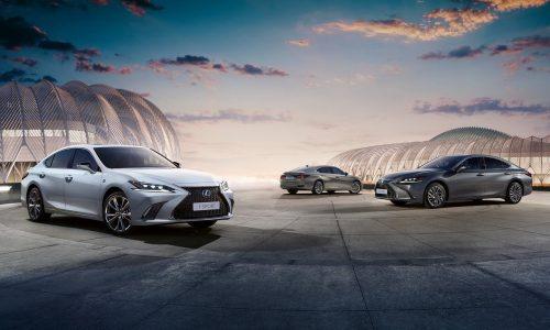 2020 Lexus ES 300h update announced, gains F Sport option