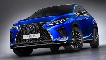2020 Lexus RX range announced for Australia