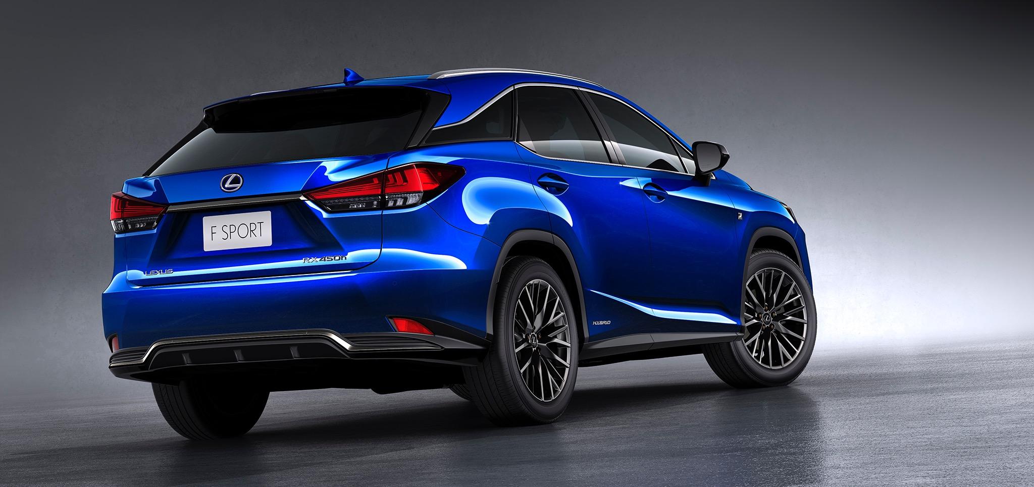 2020 lexus rx range announced for australia