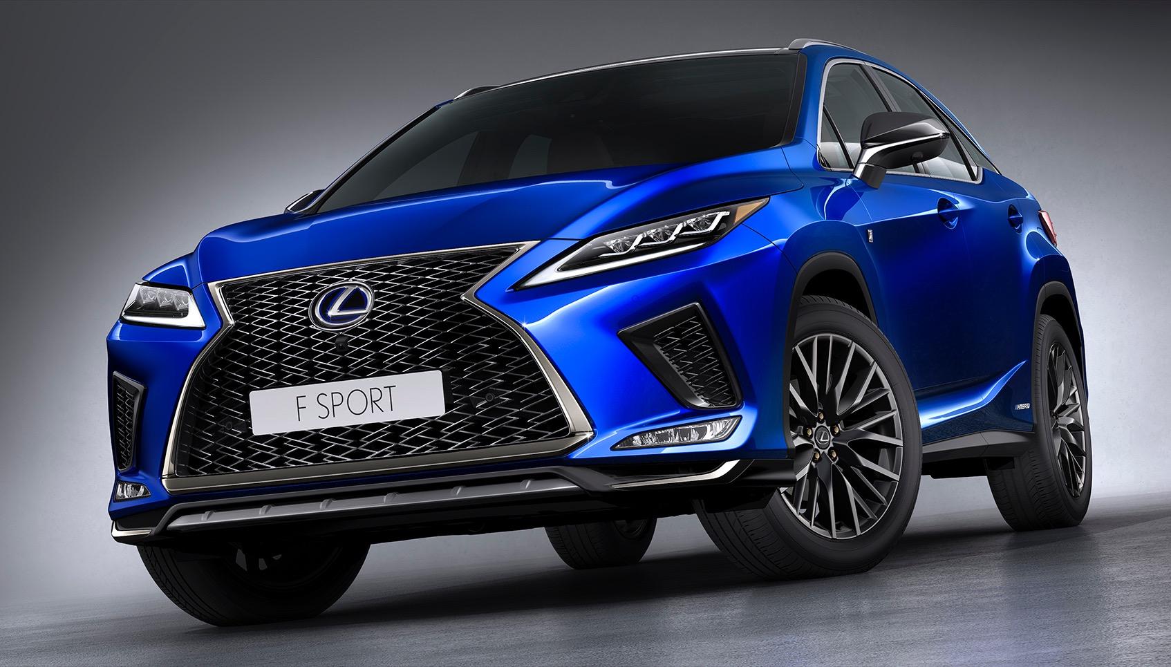 2020 Lexus RX range announced for Australia | PerformanceDrive