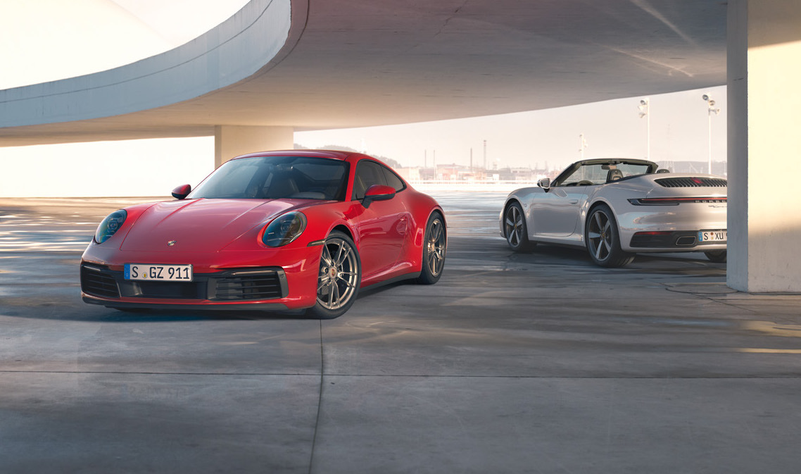 All-wheel-drive Carrera 4 joins new Porsche 911 lineup