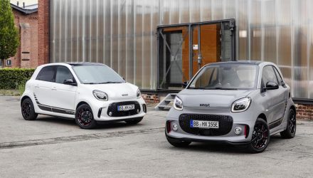 2020 Smart Fortwo, Forfour revealed; EV-only lineup