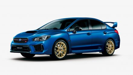 2020 Subaru WRX STI 'EJ20 Final Edition' planned for Japan