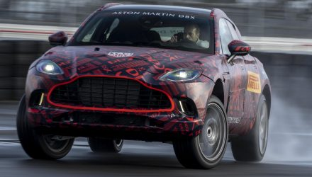 Aston Martin DBX V8 specs confirmed, sub-8min Nurburgring lap (video)