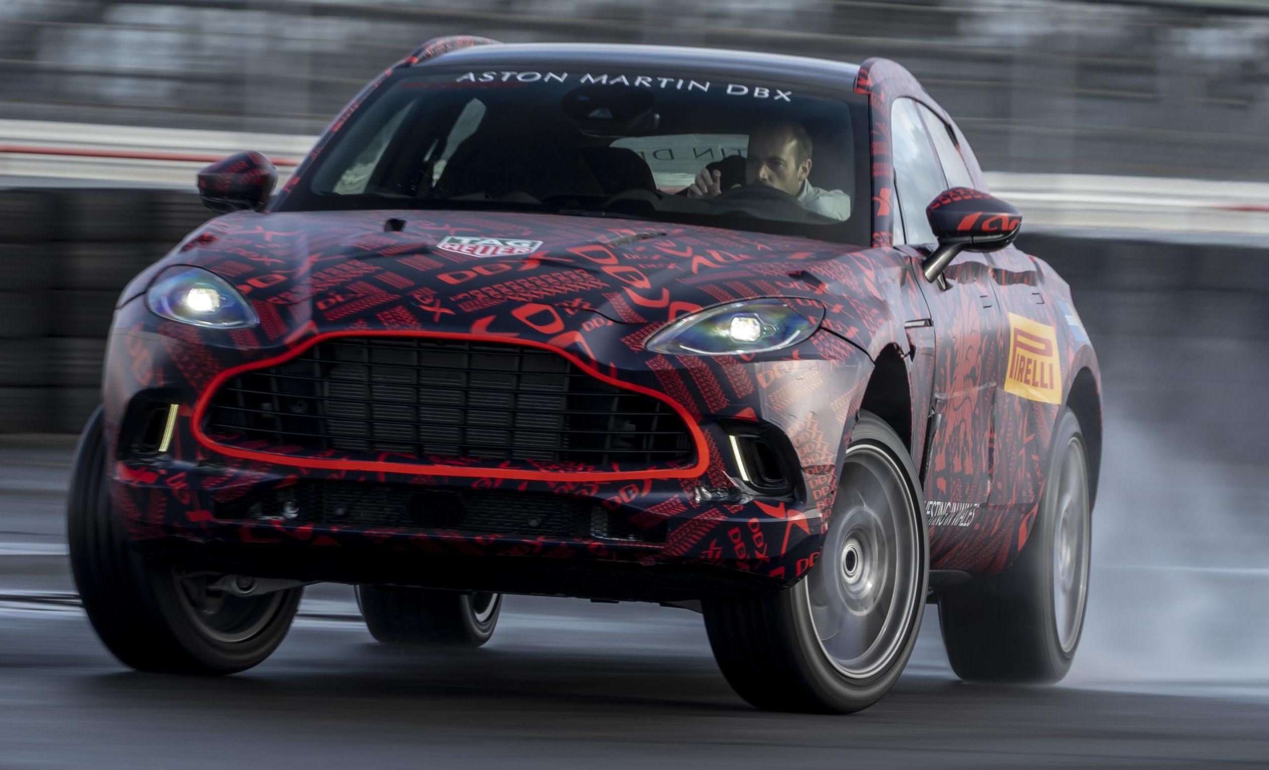 Aston Martin Dbx V8 Specs Confirmed Sub 8min Nurburgring Lap Video Performancedrive