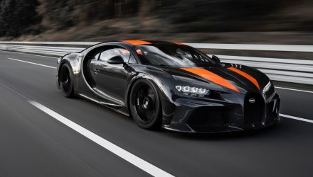 Bugatti Chiron hits 490km/h, first hypercar to pass 300mph (video)