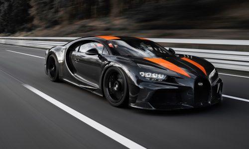 Bugatti Chiron hits 490km/h, first hypercar to pass 300mph (video)