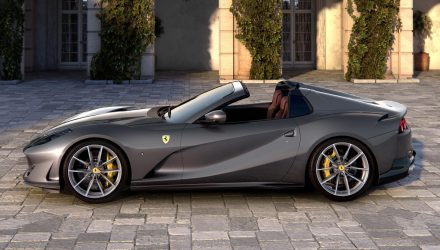 Ferrari 812 GTS unveiled, first V12 of its kind for 50 years