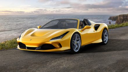 Ferrari F8 Spider revealed as new V8 drop-top
