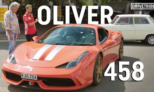 Video: James May, Richard Hammond debate Ferrari vs Opel Kadett
