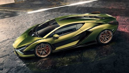 Lamborghini Sian revealed; most powerful, first hybrid