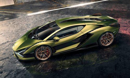 Lamborghini Sian revealed; most powerful, first hybrid