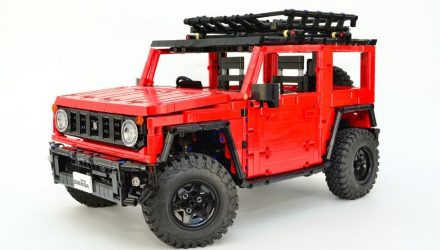Build your very own Lego Suzuki Jimny! (video)