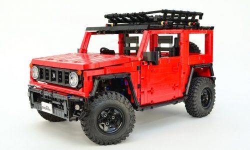 Build your very own Lego Suzuki Jimny! (video)