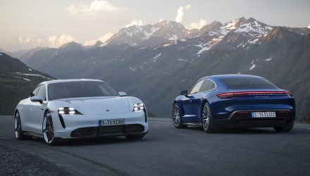 Porsche Taycan Turbo & Turbo S officially revealed