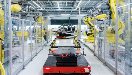Porsche Taycan production starts at refreshed Zuffenhausen site