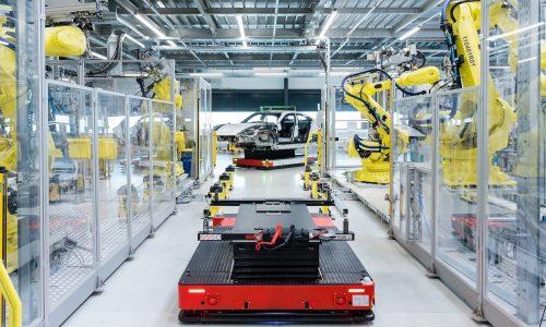 Porsche Taycan production starts at refreshed Zuffenhausen site