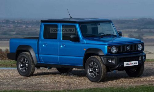 Suzuki Jimny dual-cab ute envisioned as perfect plucky workhorse