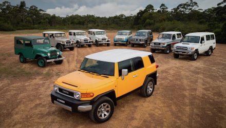 Toyota LandCruiser global sales surpass 10 million, Australia #1