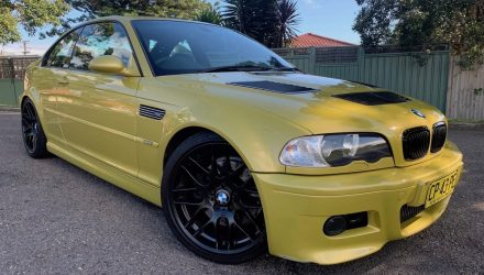 For Sale: 2001 BMW E46 M3 with S85 V10 M5 engine conversion