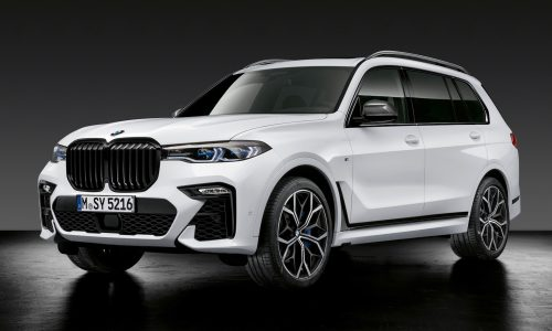 BMW M Performance parts announced for X5 M, X6 M, X7