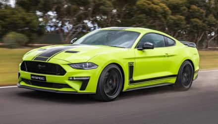 Supercharged Ford Mustang R-SPEC on sale in Australia