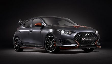 Hyundai Veloster N Performance Concept shows tuning potential