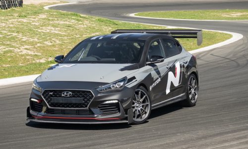 Hyundai Australia builds wicked i30 Fastback N for Time Attack