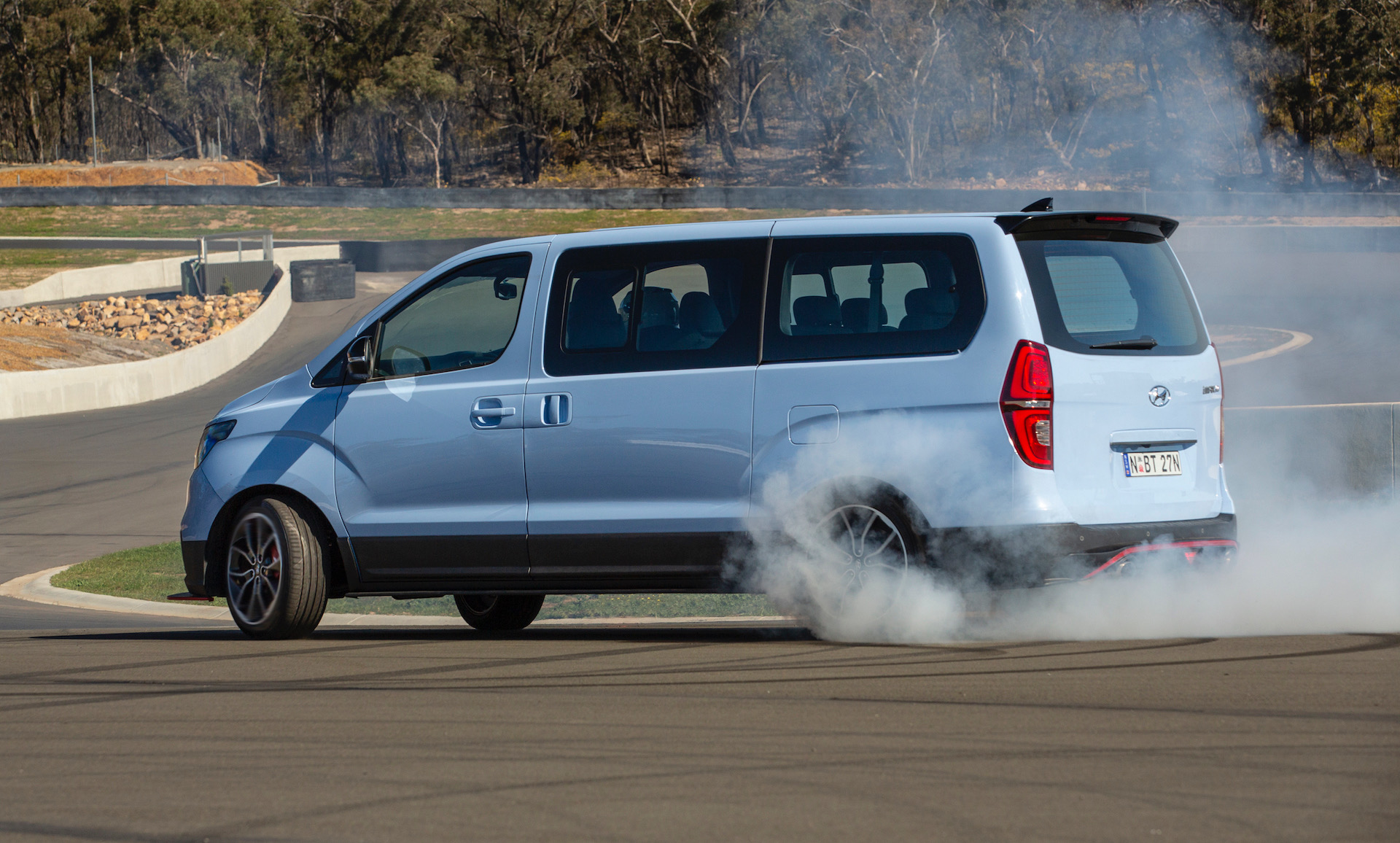 Hyundai built an 8-seat drift machine