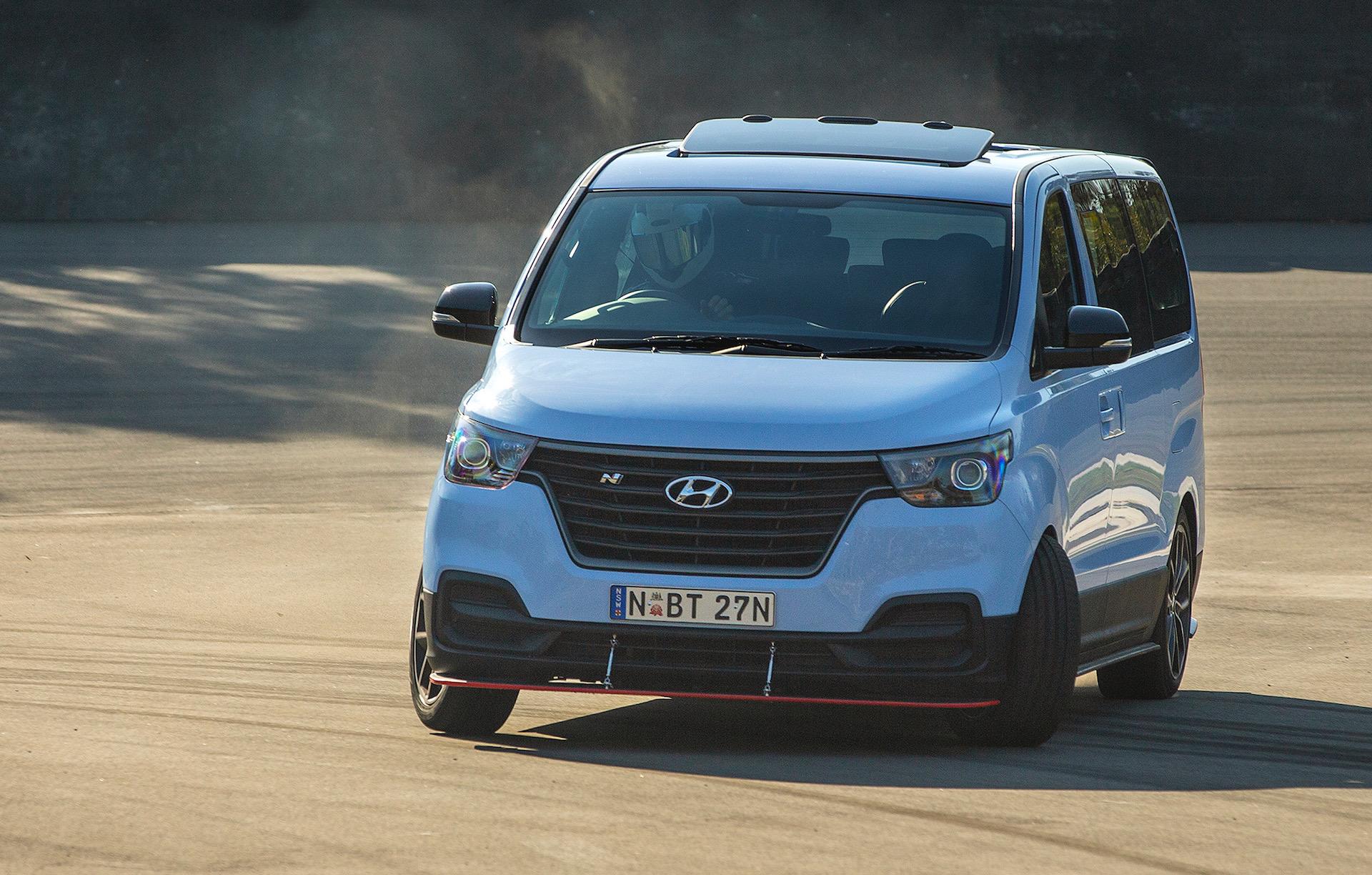 Hyundai unleashes ultimate drift... um, iMax van