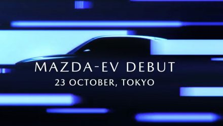 Mazda previews all-new electric vehicle, looks like a crossover (video)